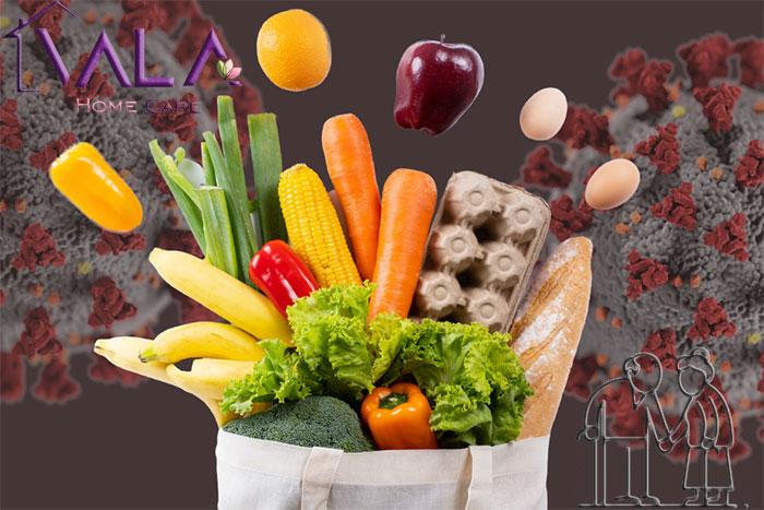 تغذیه سالمندان مبتلا به کووید ۱۹